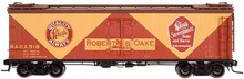 Atlas O Roberts 40' wood reefer, 3 rail or 2 rail  car