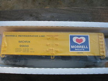 Crown (Weaver) Morrell Meats 40' Reefer, 3 rail or 2 rail