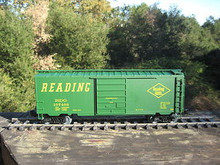Weaver Reading Lines 40' PS-1 box car, 3 rail or 2 rail