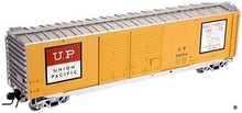 Atlas O Union Pacific  50' box car, 3 rail