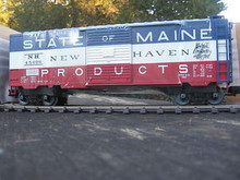 "Weaver NH ""State of Maine"" 40' PS-1 box car, 3 rail or 2 rail"