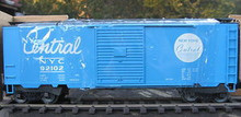 Weaver NYC (light blue) 40' PS-1 box car, 3 rail or 2 rail