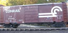 Weaver Conrail (brown) 40' PS-1 box car, 3 rail or 2 rail