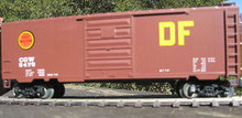 "Weaver CGW ""DF"" 40' PS-1 box car, 3 rail or 2 rail"