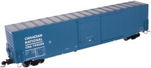 Atlas O CN (blue) 60' auto parts  box car,  2 rail or 3 rail