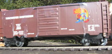 Weaver Tidewater Southern 40' PS-1 box car, 3 rail or 2 rail