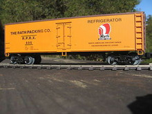 Weaver Rath Packing Co. 40' Reefer, 3 or 2 rail