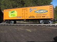 Weaver Banner Creamery Butter 40' Reefer, 3 or 2 rail
