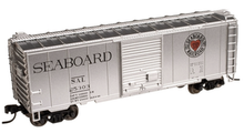 Atlas O (trainman) SAL (silver) 40' Steel Box car, 3 rail or 2 rail