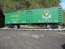 Weaver Schmidt's Tiger Head Ale 40' Reefer, 3 or 2 rail