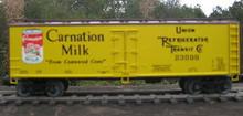 Weaver Carnation Milk 40' Reefer, 3 or 2 rail