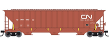 Atlas O CN PS4750  cov hopper, 3 rail or 2 rail