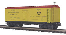 MTH Premier Erie 36' wood reefer,  3 rail