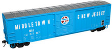 Atlas O PDT Exclusive M&NJ  50' box car, 3 rail or 2 rail