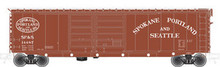 Atlas O SP&S 50' double door box car, 3 rail or 2 rail