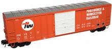 Atlas O PDT Exclusive P&W  50' box car, 3 rail or 2 rail