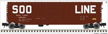 Atlas O SOO LINE modernized 50' double door box car