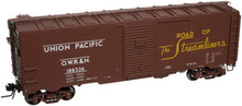 Atlas O  UP (OWR&N) 40' steel box car, 3 rail or 2 rail