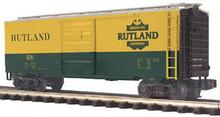 MTH Premier Rutland 40'  steel Box car, 3 rail