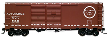 Atlas O ACL 1930's-1960's style 40' DD steel box car, 3 rail or 2 rail