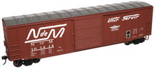 Atlas O NdeM  50' box car, 3 rail or 2 rail