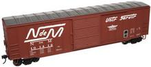 Atlas O NdeM  50' box car, 3 rail or 2 rail