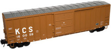 Atlas O KCS 50' box car, 3 rail or 2 rail