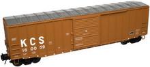 Atlas O KCS 50' box car, 3 rail or 2 rail