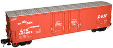 Atlas O L&N  53' Double plug door box car, 3 rail or 2 rail