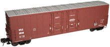 Atlas O Santa Fe SFLC 53' Double plug door box car, 3 rail or 2 rail
