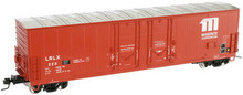 Atlas O Masonite Corp. 53' Double plug door box car, 3 rail or 2 rail