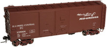 Atlas O IC 1937 style 40' DD steel box car, 3 rail or 2 rail