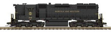 MTH Premier N&W  SD-35  diesel, 2 rail,  p2.0, sound, cruise, exhaust