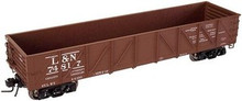 Atlas O L&N 40' Composite Gondola, 3 rail or 2 rail