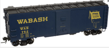 Atlas O Wabash 1937 style 40' box car,, 3 rail or 2 rail