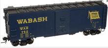 Atlas O Wabash 1937 style 40' box car,, 3 rail or 2 rail