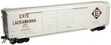 Atlas O EL 50' double door box car, 3 rail or 2 rail