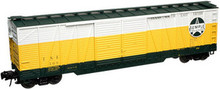 Atlas O Texas-Southeastern 50' single sheathed (wood) box car.