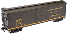 Atlas O  NWP 40'  double sheathed (wood)  box car