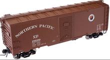 Atlas O  NP  40' steel single door box car, 3 rail or 2 rail
