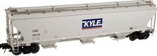 Atlas O KYLE ryws Trinity 5161 Covered Hopper, 3 rail or 2 rail