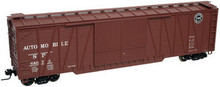 Atlas O custom SP 50' single sheathed (wood) box car, 3 or 2 rail