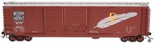 Atlas O custom WP 50' DD DF box car, 2 rail or 3 rail