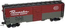 Atlas O custom NYC Pacemaker  40' steel box car, 3 rail or 2 rail
