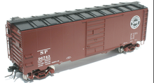 Atlas O SP  1937 style 40' steel box car (tuscan), 3 rail or 2 rail