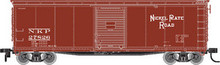 Atlas O NKP 40' usra steel box car, 3 rail or 2 rail