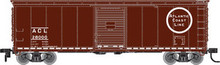 Atlas O ACL 40' steel box car, 3 rail or 2 rail