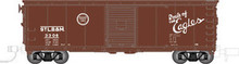 Atlas O St.BL&M 40' steel box car, 3 rail or 2 rail