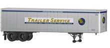 Lionel 1960's style C&O 40' trailer,  2 pack