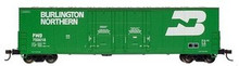 Atlas O BN  53'  DD box car, 3 rail or 2 rail